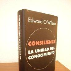 Libros de segunda mano: EDWARD O. WILSON: CONSILIENCE. LA UNIDAD DEL CONOCIMIENTO (GALAXIA GUTENBERG, 1999) RARO. Lote 214499733