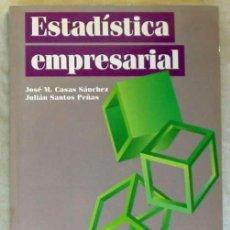 Libros de segunda mano de Ciencias: ESTADÍSTICA EMPRESARIAL - JULIÁN SANTOS PEÑAS / JOSÉ Mª CASAS SÁNCHEZ 1999 - VER INDICE. Lote 171957359