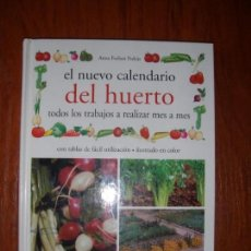 Libros de segunda mano: LIBRO EL NUEVO CALENDARIO DEL HUERTO MES A MES VECCHI. Lote 172015840