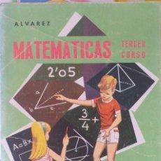 Libros de segunda mano de Ciencias: MATEMATICAS TERCER CURSO. Lote 172023625