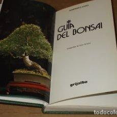 Livres d'occasion: GUÍA DEL BONSAI. GIANFRANCO GIORGI. ED. GRIJALBO. 2ª EDICIÓN 1992. FOTOS : ENZO ARNONE.. Lote 172029475