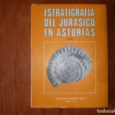 Libros de segunda mano: LIBRO ESTRATIGRAFÍA DEL JURÁSICO EN ASTURIAS LUIS CARLOS SUÁREZ VEGA TOMO 1. Lote 172102377