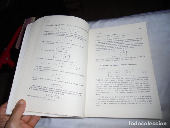 Libros de segunda mano de Ciencias: ELEMENTOS DE MATEMATICAS.JOSE MARTINEZ SALAS.VALLADOLID 1975.-5ª EDICION - Foto 5 - 172112894