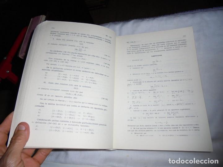 Libros de segunda mano de Ciencias: ELEMENTOS DE MATEMATICAS.JOSE MARTINEZ SALAS.VALLADOLID 1975.-5ª EDICION - Foto 6 - 172112894