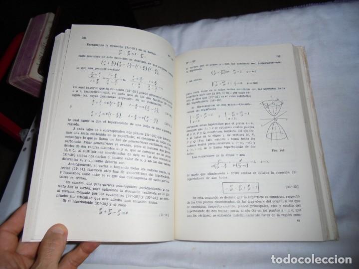 Libros de segunda mano de Ciencias: ELEMENTOS DE MATEMATICAS.JOSE MARTINEZ SALAS.VALLADOLID 1975.-5ª EDICION - Foto 9 - 172112894