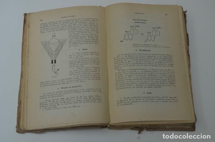 Libros de segunda mano de Ciencias: SINTESIS ORGANICA TOMO II G.GILI 1950 - Foto 3 - 172148890