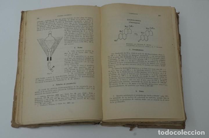 Libros de segunda mano de Ciencias: SINTESIS ORGANICA TOMO II G.GILI 1950 - Foto 4 - 172148890