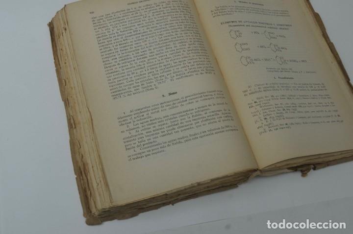 Libros de segunda mano de Ciencias: SINTESIS ORGANICA TOMO II G.GILI 1950 - Foto 6 - 172148890