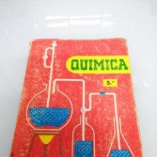 Libros de segunda mano de Ciencias: QUÍMICA QUINTO BACHILLER. ED. S.M.. MADRID, 1972.. Lote 172159709