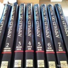 Libros de segunda mano: COLECCION ANIMALES DEL MUNDO -- PLAZA & JANES 1990 -- 8 TOMOS -- COMPLETA -- . Lote 172175662