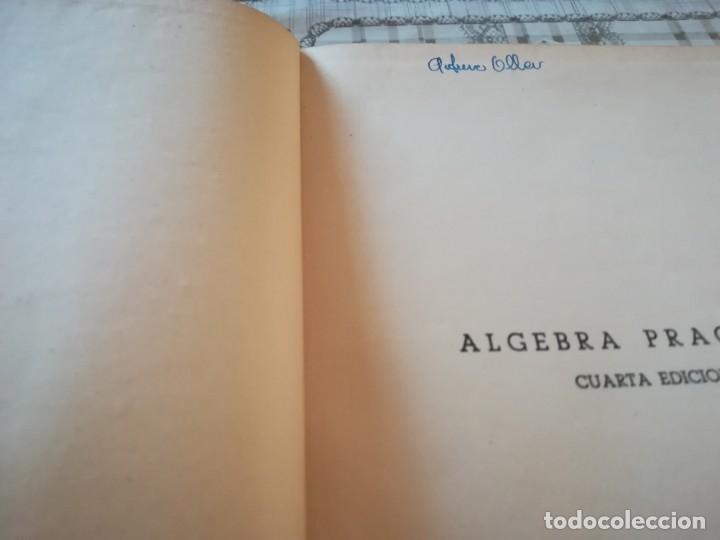 Libros de segunda mano de Ciencias: Álgebra práctica - Carlos Mataix Aracil - 1950 - Foto 4 - 172179318