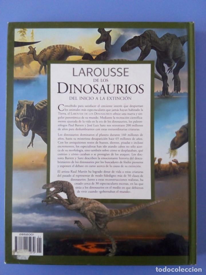 Libros de segunda mano: ENCICLOPEDIA LAROUSSE DE LOS DINOSAURIOS DEL INICIO A LA EXTINCION PAUL BARRETT JOSE LUIS SANZ 2002 - Foto 3 - 222139228