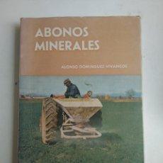 Livros em segunda mão: ABONOS MINERALES/MINISTERIO DE AGRICULTURA. Lote 172276412