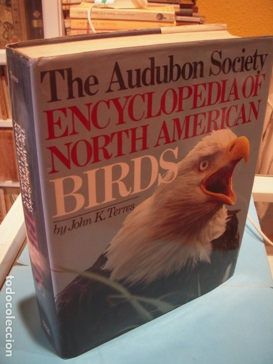 THE AUDUBON SOCIETY - ENCYCLOPEDIA OF NORTH AMERICAN BIRDS - JOHN K. TERRES - WING BOOKS, 1991 (Libros de Segunda Mano - Ciencias, Manuales y Oficios - Biología y Botánica)
