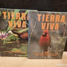 Libros de segunda mano: TIERRA VIVA.....ANIMALES DEL MUNDO...AVES.....DOS TOMOS.....AUPPER. Lote 172462053
