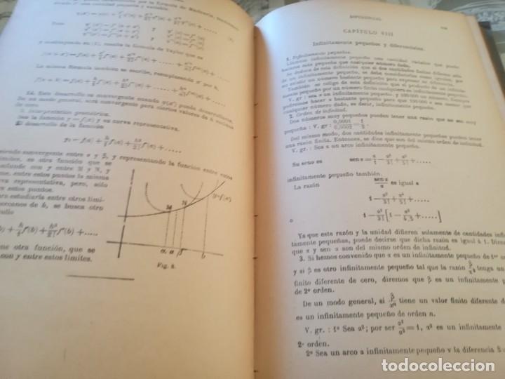 Libros de segunda mano de Ciencias: Elementos de Geometría Analítica y de Cálculo Infinitesimal - G. M. Bruño - no consta fecha - Foto 6 - 172637254