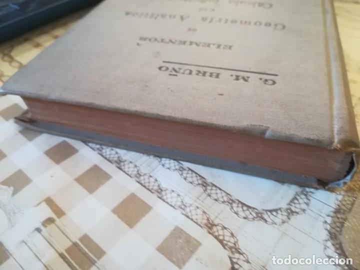 Libros de segunda mano de Ciencias: Elementos de Geometría Analítica y de Cálculo Infinitesimal - G. M. Bruño - no consta fecha - Foto 12 - 172637254