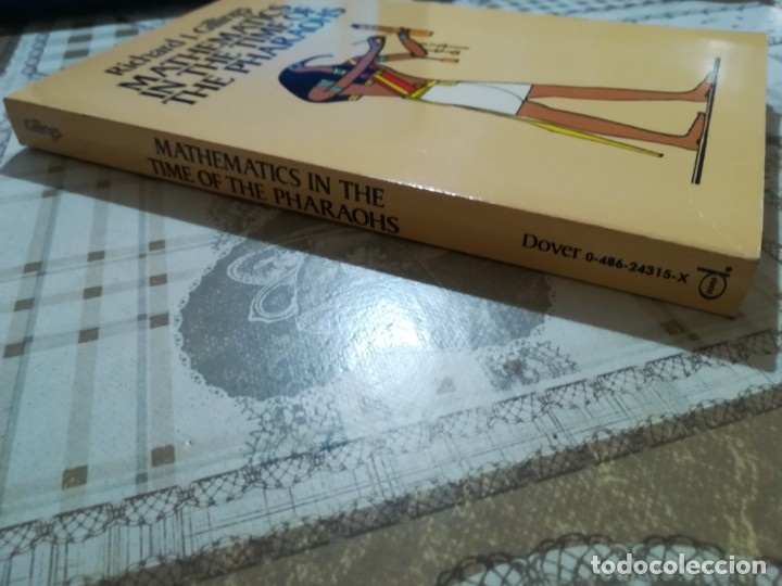 Libros de segunda mano de Ciencias: Mathematics in the time of the Pharaohs - Richard J. Gillings - en inglés - Foto 7 - 172710934