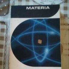 Libros de segunda mano de Ciencias: MATERIA - RALPH E. LAPP. Lote 172857054