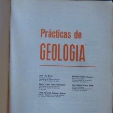Libros de segunda mano: PRÁCTICAS DE GEOLOGÍA. Lote 172898904