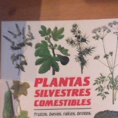 Libros de segunda mano: PLANTAS SILVESTRES COMESTIBLES GENDERS, ROY PUBLICADO POR BLUME 1988 206PP. Lote 172946265
