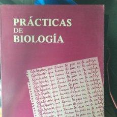 Libros de segunda mano: PRACTICAS DE BIOLOGIA EDITORIAL FONTALBA ED.1981. Lote 172959279
