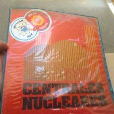 Libros de segunda mano de Ciencias: LOTE DE 5 LIBROS O FASCÍCULOS MÁS PEGATINA - LAS CENTRALES NUCLEARES - ENERGÍA NUCLEAR - 1980 -. Lote 173075968