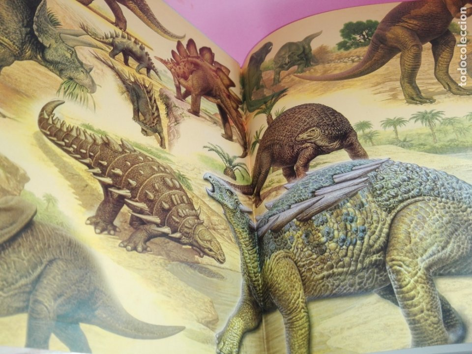 Libros de segunda mano: Libro-Atlas ilustrado de los Dinosaurios-Susaeta-Nuevo-Ver fotos - Foto 3 - 173092604