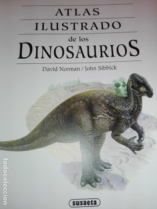 Libros de segunda mano: Libro-Atlas ilustrado de los Dinosaurios-Susaeta-Nuevo-Ver fotos - Foto 4 - 173092604