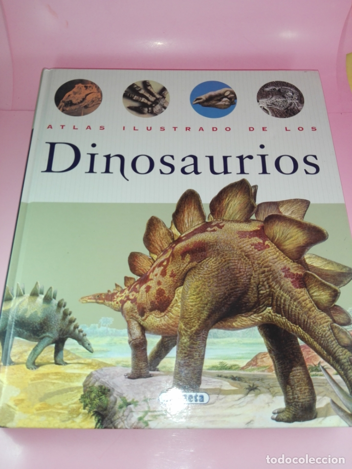 LIBRO-ATLAS ILUSTRADO DE LOS DINOSAURIOS-SUSAETA-NUEVO-VER FOTOS (Libros de Segunda Mano - Ciencias, Manuales y Oficios - Paleontología y Geología)