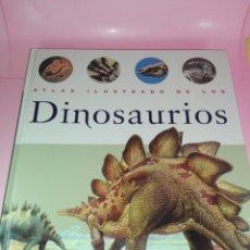 Libros de segunda mano: LIBRO-ATLAS ILUSTRADO DE LOS DINOSAURIOS-SUSAETA-NUEVO-VER FOTOS. Lote 173092604