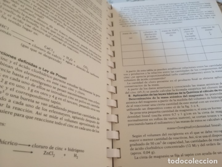 Libros de segunda mano de Ciencias: Atlas de prácticas de física y química - E. Seba / A. Roca - Foto 7 - 173145364
