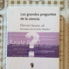Libros de segunda mano de Ciencias: LAS GRANDES PREGUNTAS DE LA CIENCIA - HARRIET SWAIN, ED. INTRODUCCIÓN DE JOHN MADDOX - PRECINTADO. Lote 173154063