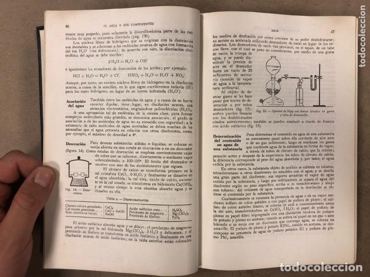 Libros de segunda mano de Ciencias: TRATADO DE QUÍMICA INORGÀNICA. ERNESTO H. RIESENFELD. MANUEL MARÍN EDITOR 1947 - Foto 4 - 173156339