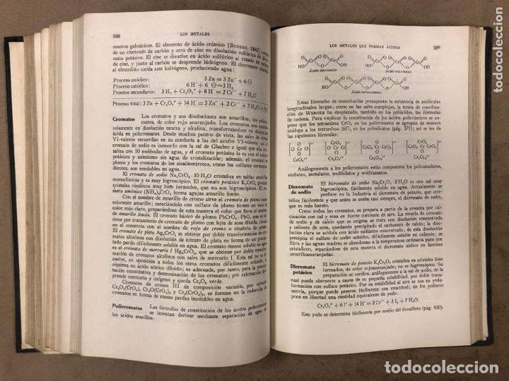 Libros de segunda mano de Ciencias: TRATADO DE QUÍMICA INORGÀNICA. ERNESTO H. RIESENFELD. MANUEL MARÍN EDITOR 1947 - Foto 7 - 173156339