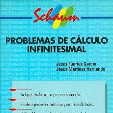 Libros de segunda mano de Ciencias: PROBLEMAS DE CÁLCULO INFINITESIMAL. Lote 173157154