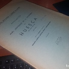 Libros de segunda mano: EXPLICACION AL MAPA GEOLOGICO DE LA PROVINCIA DE HUESCA, MADRID 1957. Lote 173375423
