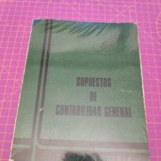 Libros de segunda mano de Ciencias: SUPUESTOS DE CONTABILIDAD GENERAL - A. SAEZ TORRECILLA - ED. TEBAR FLORES - 1986. Lote 173380832