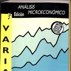 Libros de segunda mano de Ciencias: ANÁLISIS MICROECONÓMICO, 3ª ED.. Lote 173384884