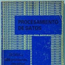 Libros de segunda mano de Ciencias: LMV - PROCESAMIENTO DE DATOS. MARTIN M. LIPSCHUTZ. SCHAUM-MCGRAW-HILL. 1982. Lote 173501809