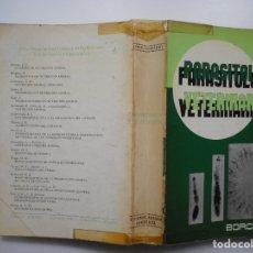 Libros de segunda mano: ALFRED BORCHERT PARASITOLOGÍA VETERINARIA Y95569. Lote 173569174