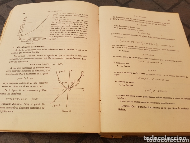 Libros de segunda mano de Ciencias: Matemáticas 5º curso de Bachillerato Madrid 1950 - Foto 2 - 173629380