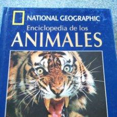 Libros de segunda mano: NATIONAL GEOGRAPHIC - ENCICLOPEDIA DE LOS ANIMALES - MAMIFEROS TOMO I -- LIBRO + DVD --. Lote 173669183