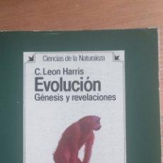 Libros de segunda mano: EVOLUCIÓN. GÉNESIS Y REVELACIONES LEON HARRIS, C. PUBLICADO POR HERMANN BLUME (1985) 452PP. Lote 173865323