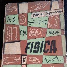 Livros em segunda mão: FISICA. SEXTO CURSO. - FEO GARCIA, ROBERTO.. Lote 173704868
