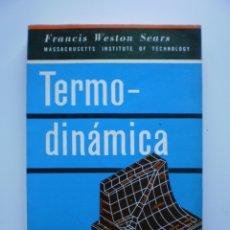 Libros de segunda mano de Ciencias: INTRODUCCION A LA TERMODINAMICA. TEORIA CINETICA DE LOS GASES Y MECANICA ESTADISTICA. Lote 173979125