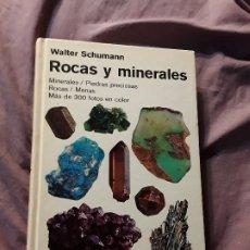 Libros de segunda mano: ROCAS Y MINERALES, DE WALTER SCHUMANN. OMEGA, 1998.. Lote 174517469