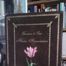Libros de segunda mano: FRANCISCUS DE GESST: HORTUS AMOENISSIMUS. FACSIMIL DEL ORIGINAL DEL SIGLO XVII, (ABOCA, 2012).. Lote 174660595