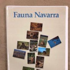 Libros de segunda mano: FAUNA NAVARRA. COLECCIONABLE DEL DIARIO DE NAVARRA CON 12 FASCÍCULOS DISPUESTOS PARA ENCUADERNAR. Lote 174906543