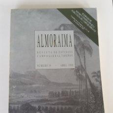 Libros de segunda mano: ALMORAIMA. REVISTA DE ESTUDIOS CAMPOGIBRALTAREÑOS. 19. 1998. JORNADAS FLORA Y FAUNA. ALGECIRAS CÁDIZ. Lote 175133155